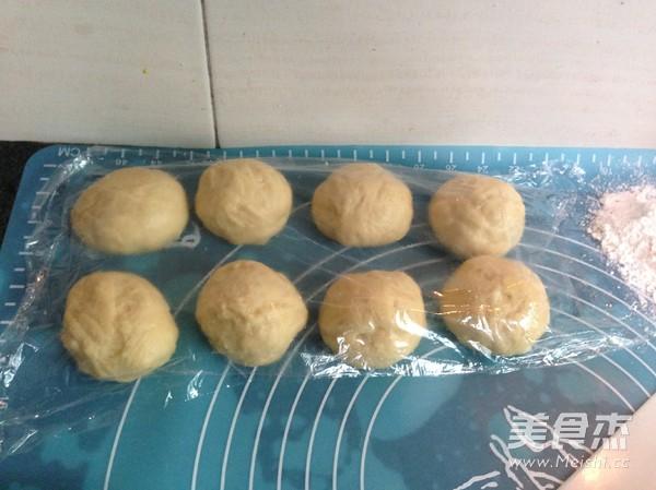 椰黄小餐包的步骤