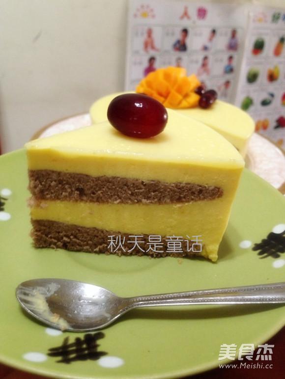 芒果芝士慕斯蛋糕怎么煸