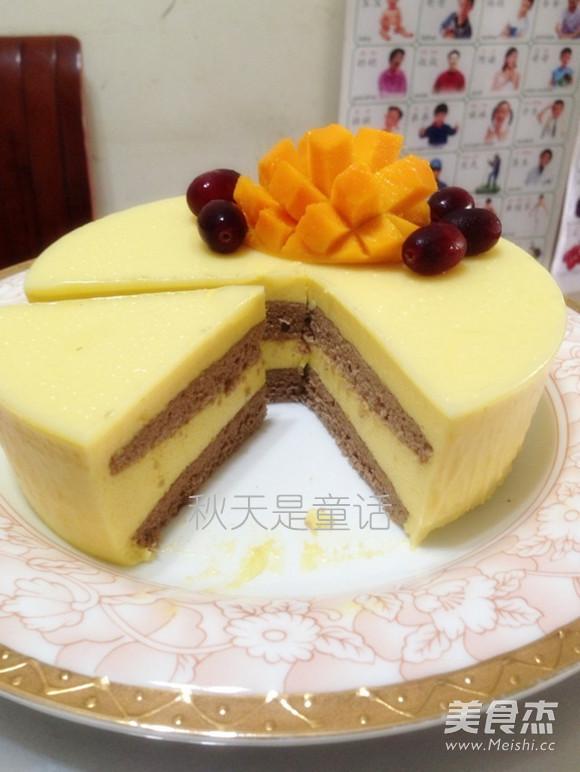 芒果芝士慕斯蛋糕怎么炖