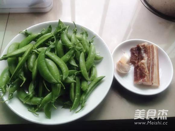腊肉炒荷兰豆的做法大全