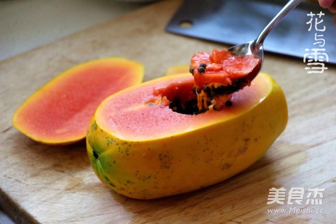 经典木瓜炖雪蛤怎么炒