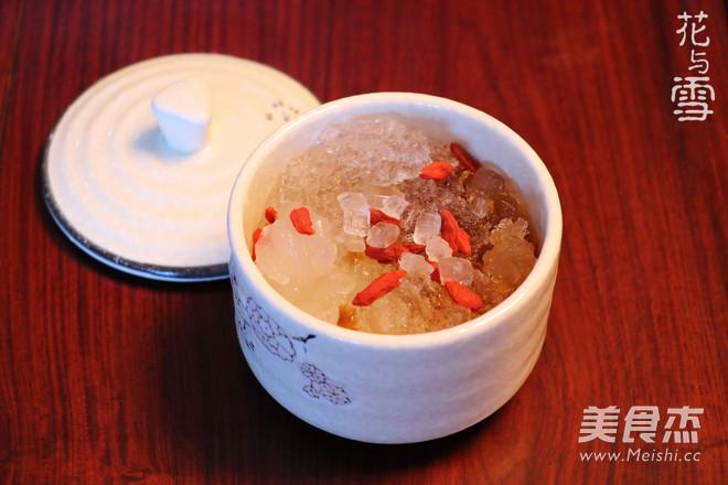 桃胶雪燕炖雪蛤的家常做法