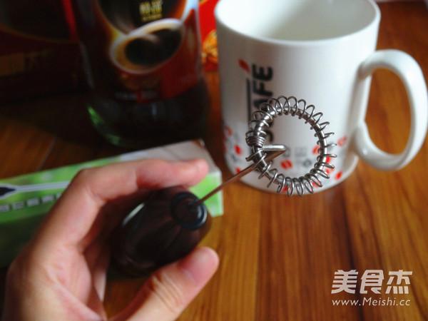 卡布奇诺咖啡的简单做法