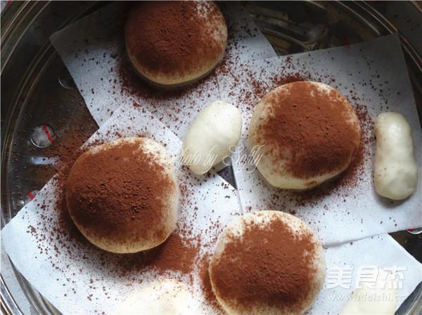 香雪面粉香菇造型馒头怎么炒
