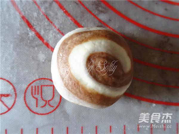 巧克力奶酪包(蒸)的制作方法
