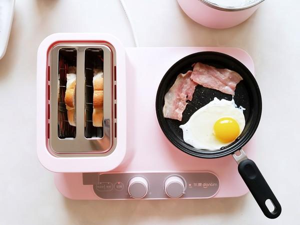 元气蛋蔬三明治的做法图解