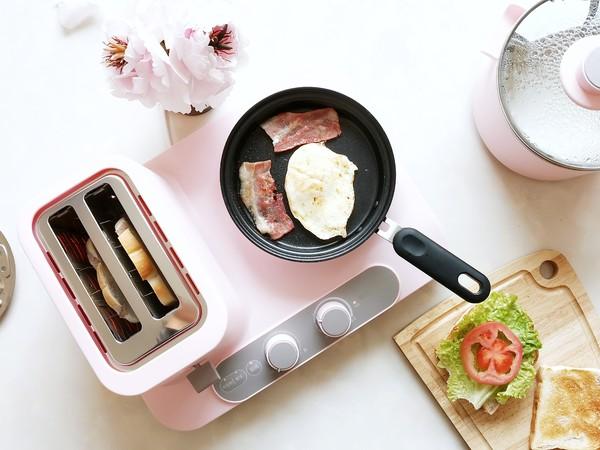 元气蛋蔬三明治的家常做法