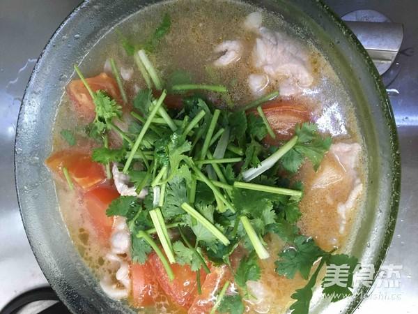 西红柿肉片汤怎么煮