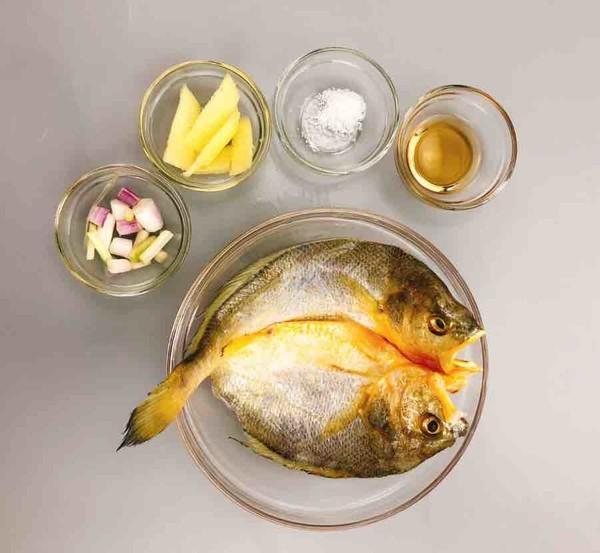 香煎黄鱼的做法大全