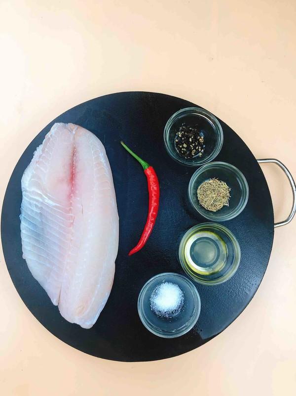 减肥餐~香煎鲷鱼的做法大全