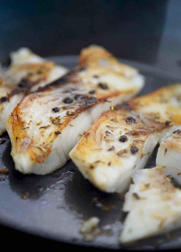 减肥餐~香煎鲷鱼怎么做