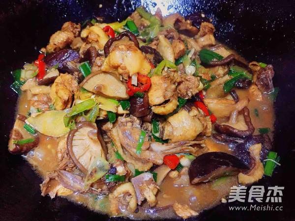 香菇蒜焖鸡怎样煮