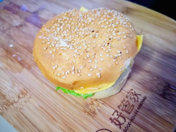 汉堡包怎样煸