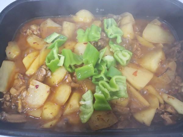 土豆烧鸡块怎样炒