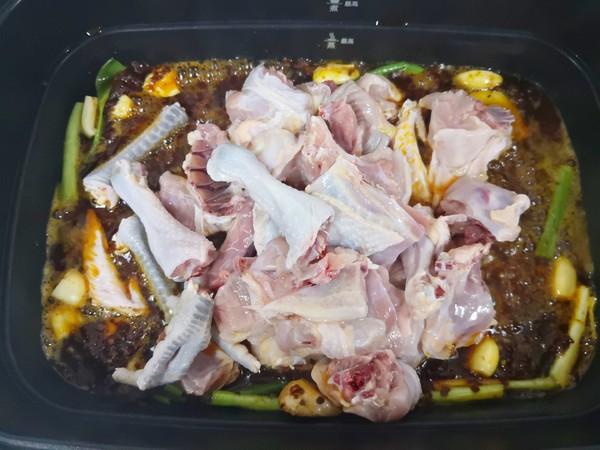 土豆烧鸡块怎么炒
