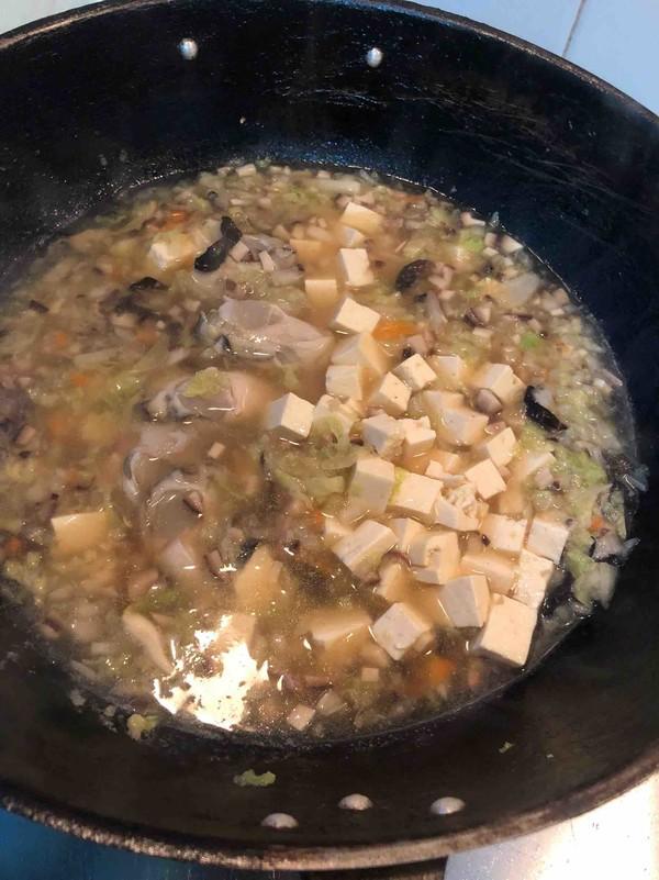 蛎羹汤的简单做法