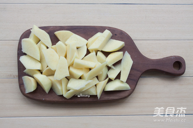 炸薯角的做法大全