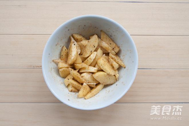 炸薯角的简单做法