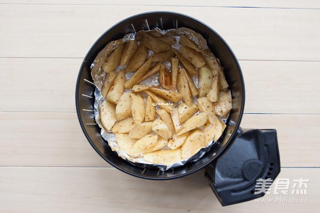炸薯角怎么吃