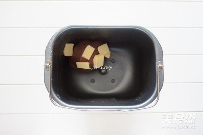 巧克力酥皮面包的家常做法