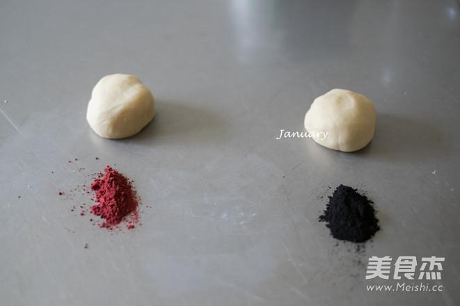红曲竹炭酥的家常做法