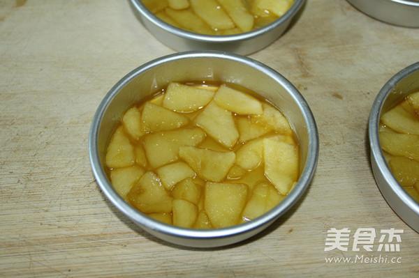 焦糖苹果蛋糕怎么做