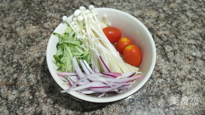 捞汁什锦菜的做法图解