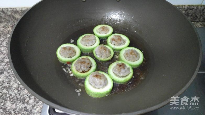 西葫芦酿肉怎么炒
