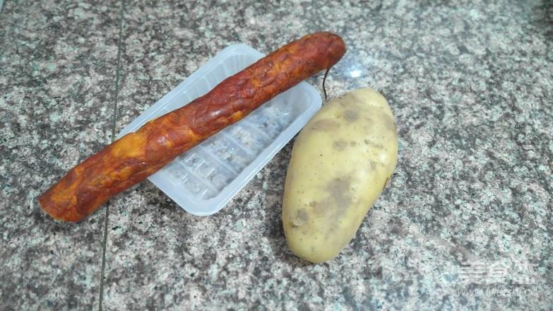 土豆蒸腊肠的做法大全