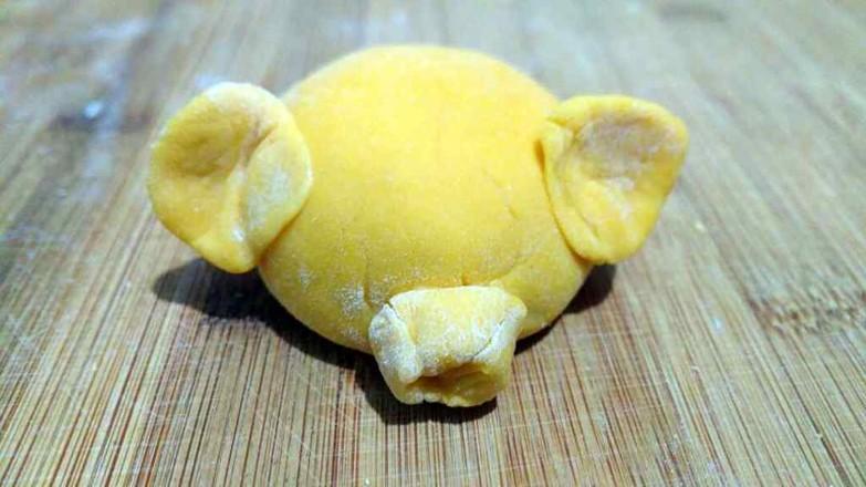 小猪南瓜馒头怎么煮