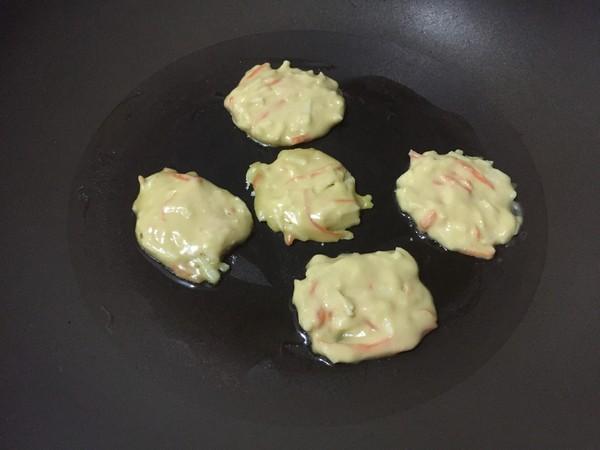 苹果胡萝卜小饼的简单做法