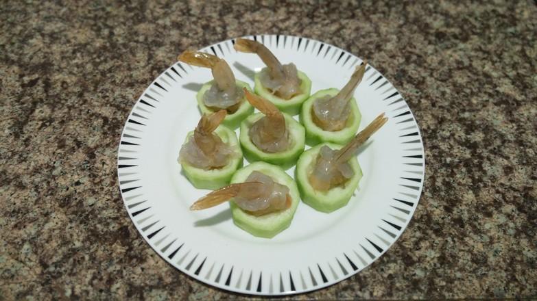 丝瓜鲜虾盅的简单做法