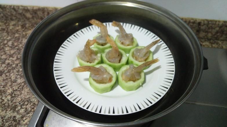 丝瓜鲜虾盅怎么吃