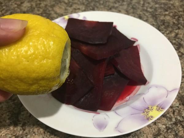 柠檬甜菜根的简单做法