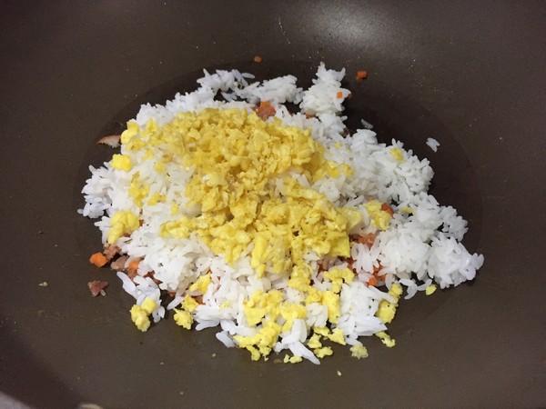 蛋炒饭怎么做