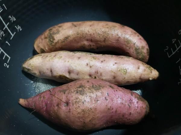 电饭锅版烤红薯的家常做法