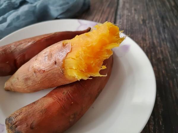 电饭锅版烤红薯的简单做法