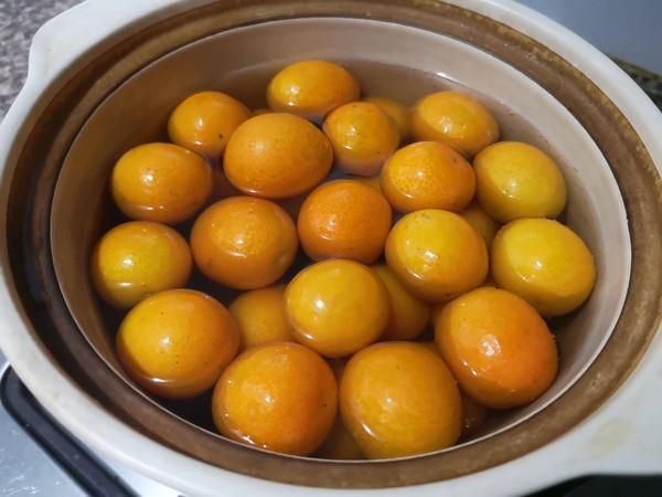 金桔蜜饯的简单做法