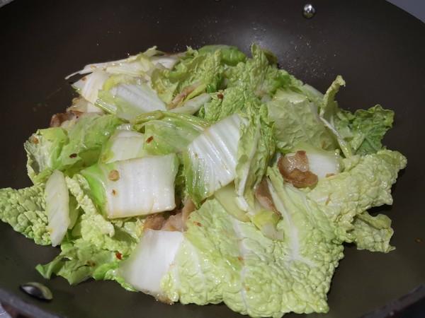 白菜炖粉条怎么炒