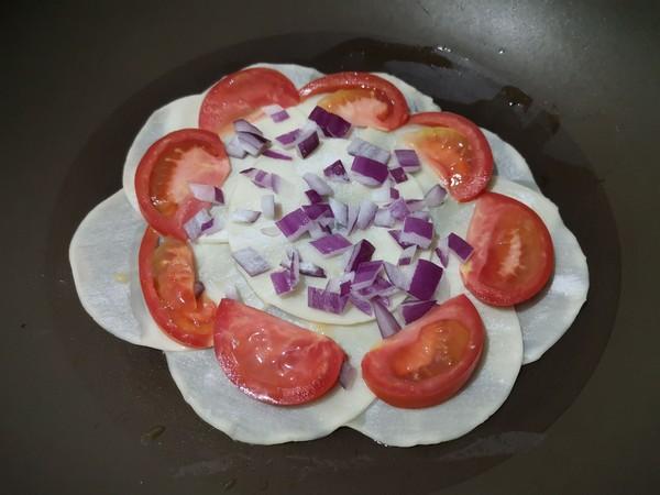 饺子皮披萨的家常做法