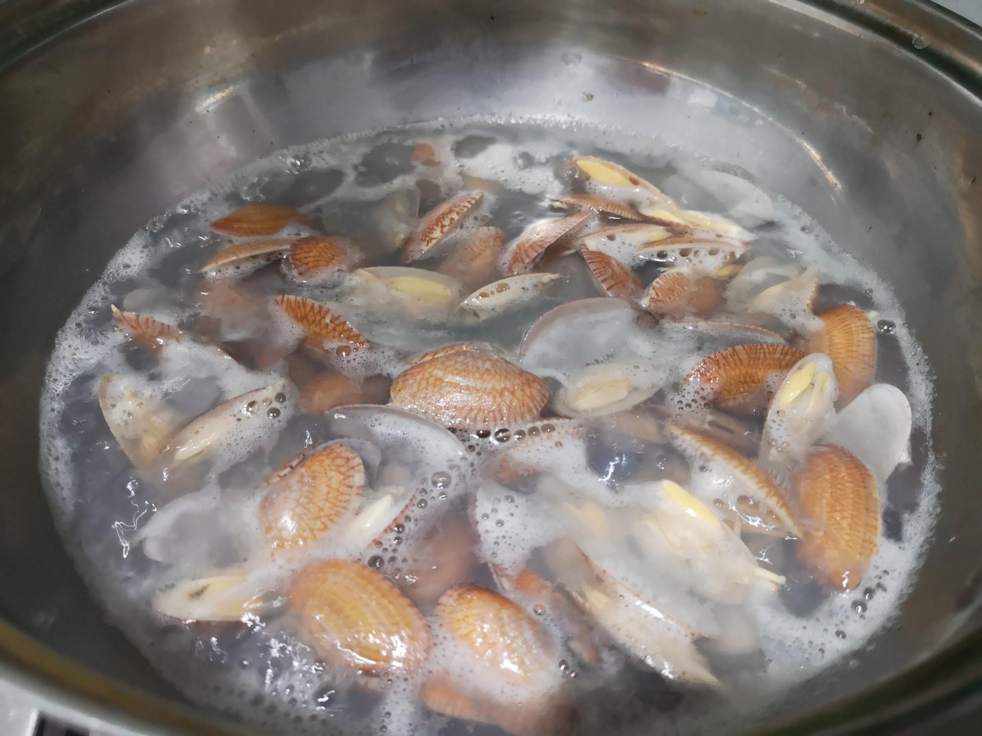 花蛤蒸蛋的做法图解