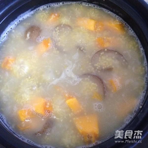 海参南瓜小米粥的简单做法