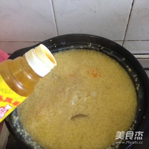 海参南瓜小米粥怎么吃