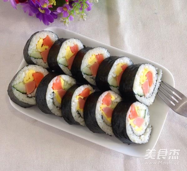 紫菜饭饭的简单做法