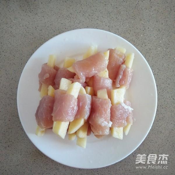 土豆炸里脊肉的做法图解
