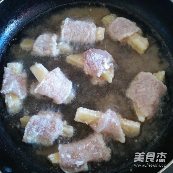 土豆炸里脊肉的简单做法