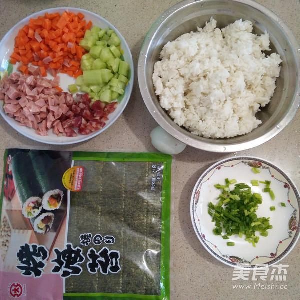 紫菜包炒饭的做法大全