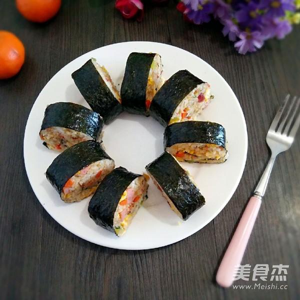 紫菜包炒饭怎样煮