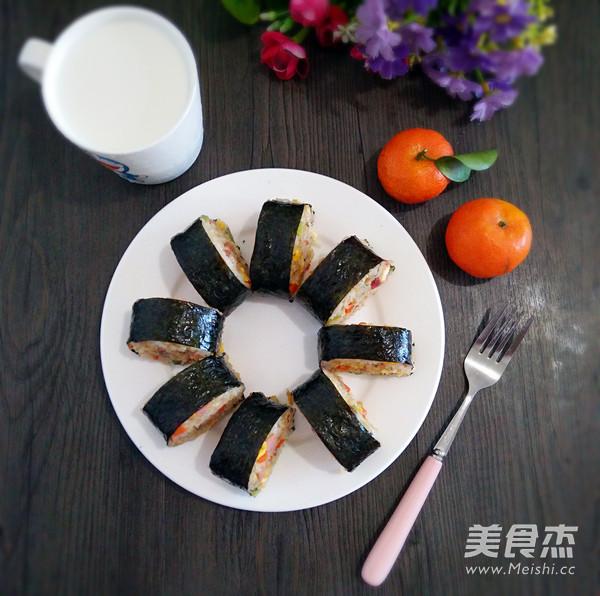 紫菜包炒饭怎样炒