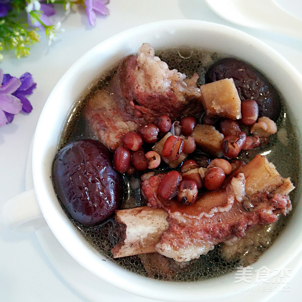 茯苓红豆炖排骨汤怎么炒